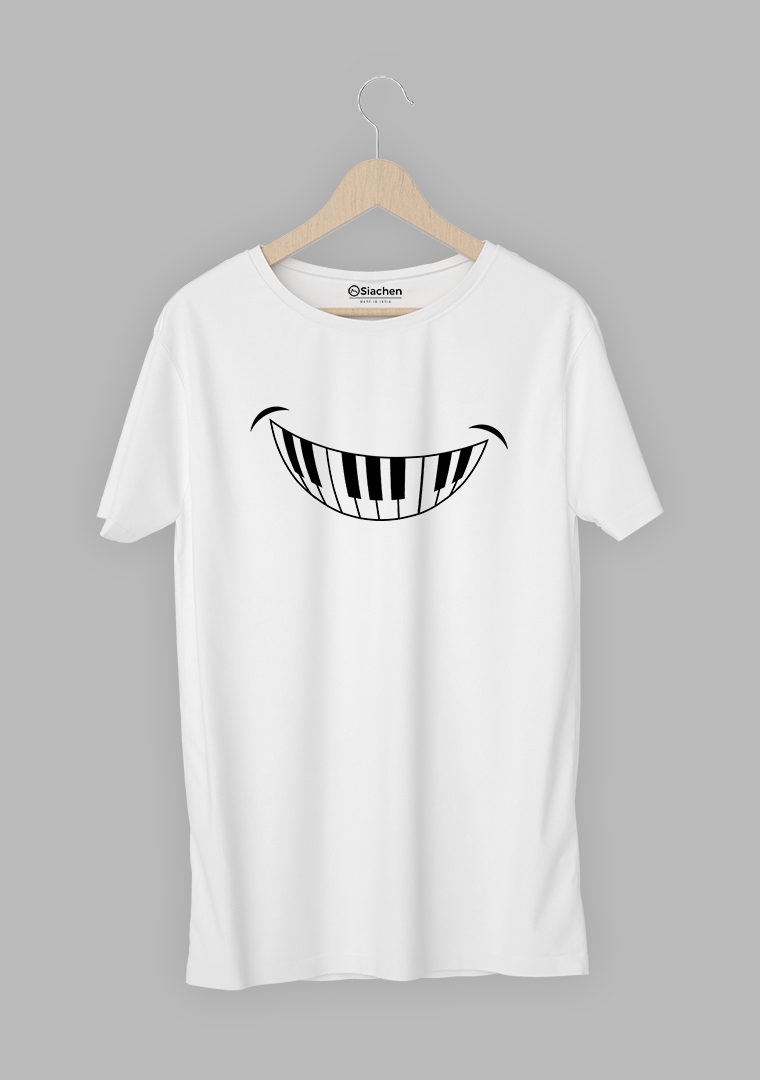 Smiley Piano T-shirt