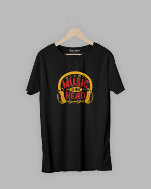 Music in my head T-shirt-2
