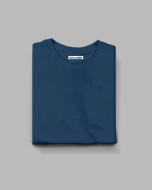 Navy Blue Plain - Half Sleeve T-Shirt