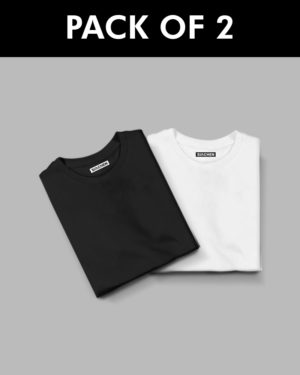 Plain Half Sleeve T-Shirt