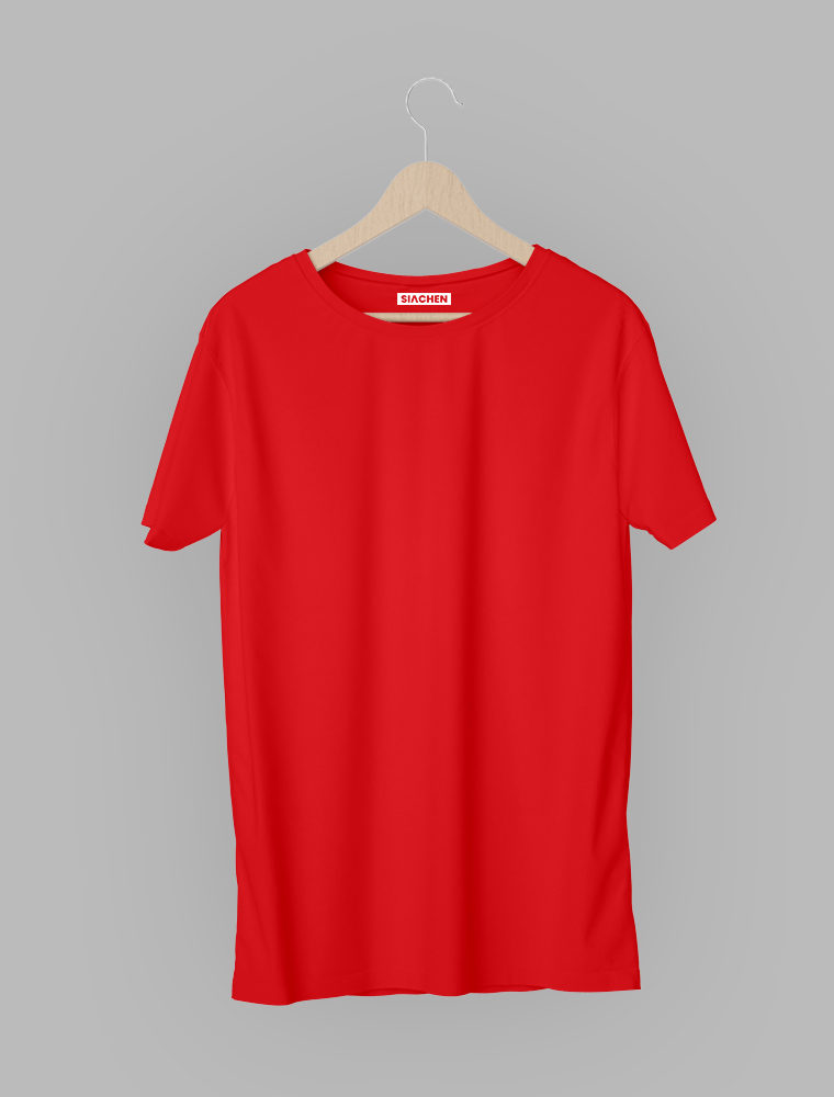 Red Plain - Half Sleeve T-Shirt 17/02/2021