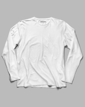 White Plain - Full Sleeve T-Shirt