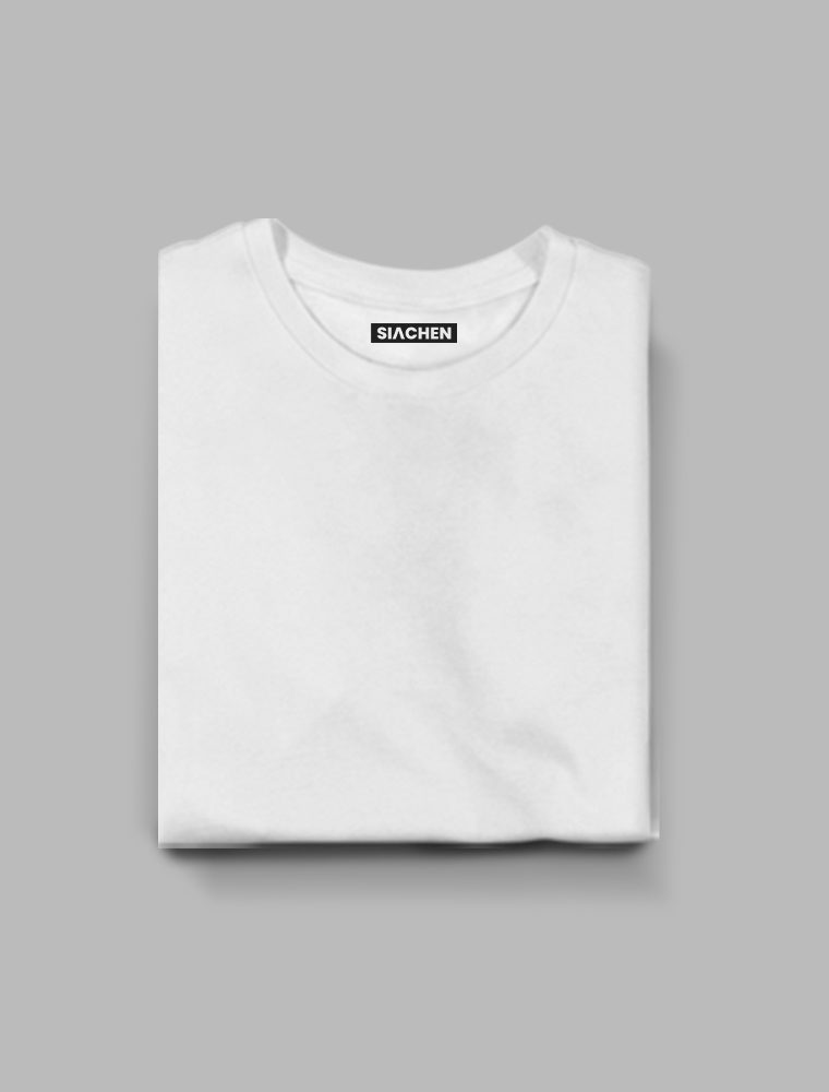 White Plain - Half Sleeve T-Shirt 17/02/2021
