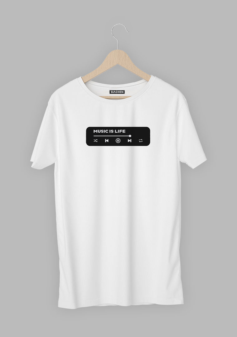 Music Is Life Music Player T-Shirt
